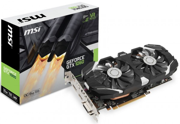 MSI GeForce GTX 1060 6GT OC