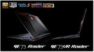 Иллюстрация к новости MSI представила геймерские ноутбуки GE63VR/73VR Raider