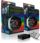 Иллюстрация к новости Raijintek готова выпустить в продажу корпусные вентиляторы Iris 12 Rainbow RGB