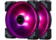 Иллюстрация к новости In Win Crown: вентиляторы охлаждения с многоцветной подсветкой