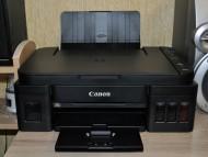Иллюстрация к новости Обзор струйного принтера МФУ Canon PIXMA G3411, отзыв покупателя после покупки.