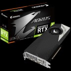 Иллюстрация к новости Видеокарта Aorus GeForce RTX 2080 Ti Turbo 11G с заводским разгоном