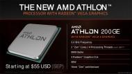 Иллюстрация к новости AMD Athlon 200GE стал самым дешёвым оверклокерским CPU