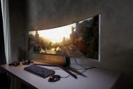 Иллюстрация к новости CES 2019: Гигантский игровой монитор Samsung CRG9 с соотношением сторон 32:9