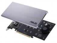 Иллюстрация к новости Карта расширения ASUS Hyper M.2 X16 Card V2 поможет установить SSD-накопители M.2 в настольный ПК
