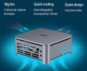 Иллюстрация к новости Мини-ПК на Intel Core i9-9880H и M.2 SSD доступен к покупке по цене менее $600