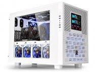 Иллюстрация к новости Thermaltake Core X9 Snow Edition: белоснежный корпус-куб для плат E-ATX