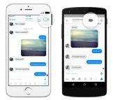 Иллюстрация к новости Facebook Messenger получил функцию видеозвонков