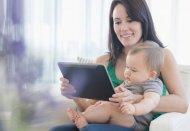 Иллюстрация к новости Большинство детей к двум годам получают опыт работы с мобильными устройствами