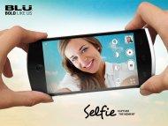 Иллюстрация к новости BLU Selfie: смартфон с 13-Мп фронтальной камерой для съёмки автопортретов