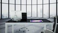 Иллюстрация к новости Sharetable: необычная концепция стола со встроенными дисплеями и компьютером