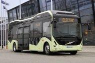 Иллюстрация к новости Электробусы Volvo выезжают на городские улицы Швеции