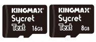 Иллюстрация к новости Kingmax Sycret Text: карты памяти microSD с шифрованием данных