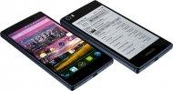 Иллюстрация к новости Siswoo R9 Darkmoon: клон YotaPhone 2 с двумя дисплеями