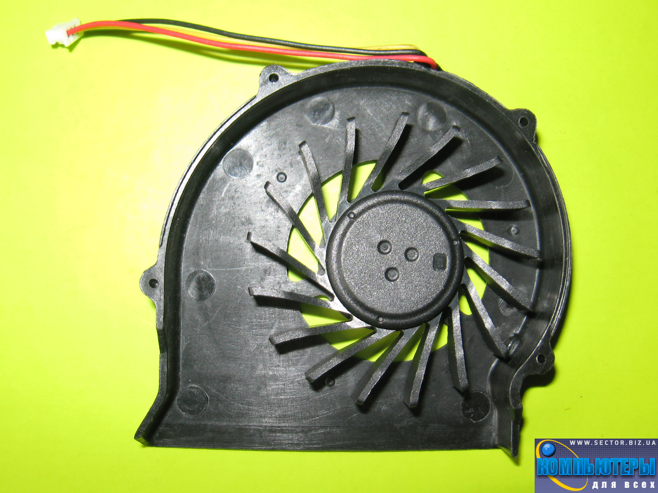 Кулер к ноутбуку MSI CR400 EX460 EX460X EX600 PR400 PR600 MS-1435 MX-1436 MS-1452 MS-163C p/n: 6010H05F PF1. Фото № 1.