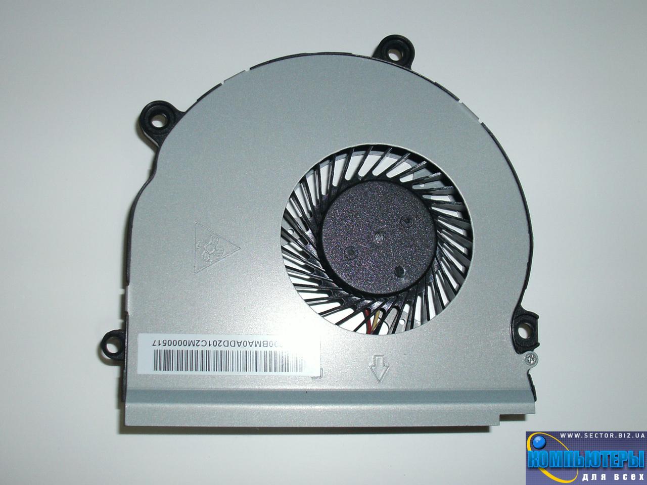 Кулер к ноутбуку Samsung NP355V4X NP355V4C NP350V5C NP355V5X p/n: AB08005HX10K300. Фото № 1.