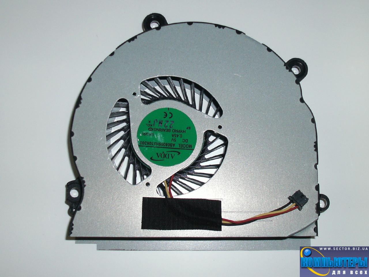 Кулер к ноутбуку Samsung NP355V4X NP355V4C NP350V5C NP355V5X p/n: AB08005HX10K300. Фото № 3.