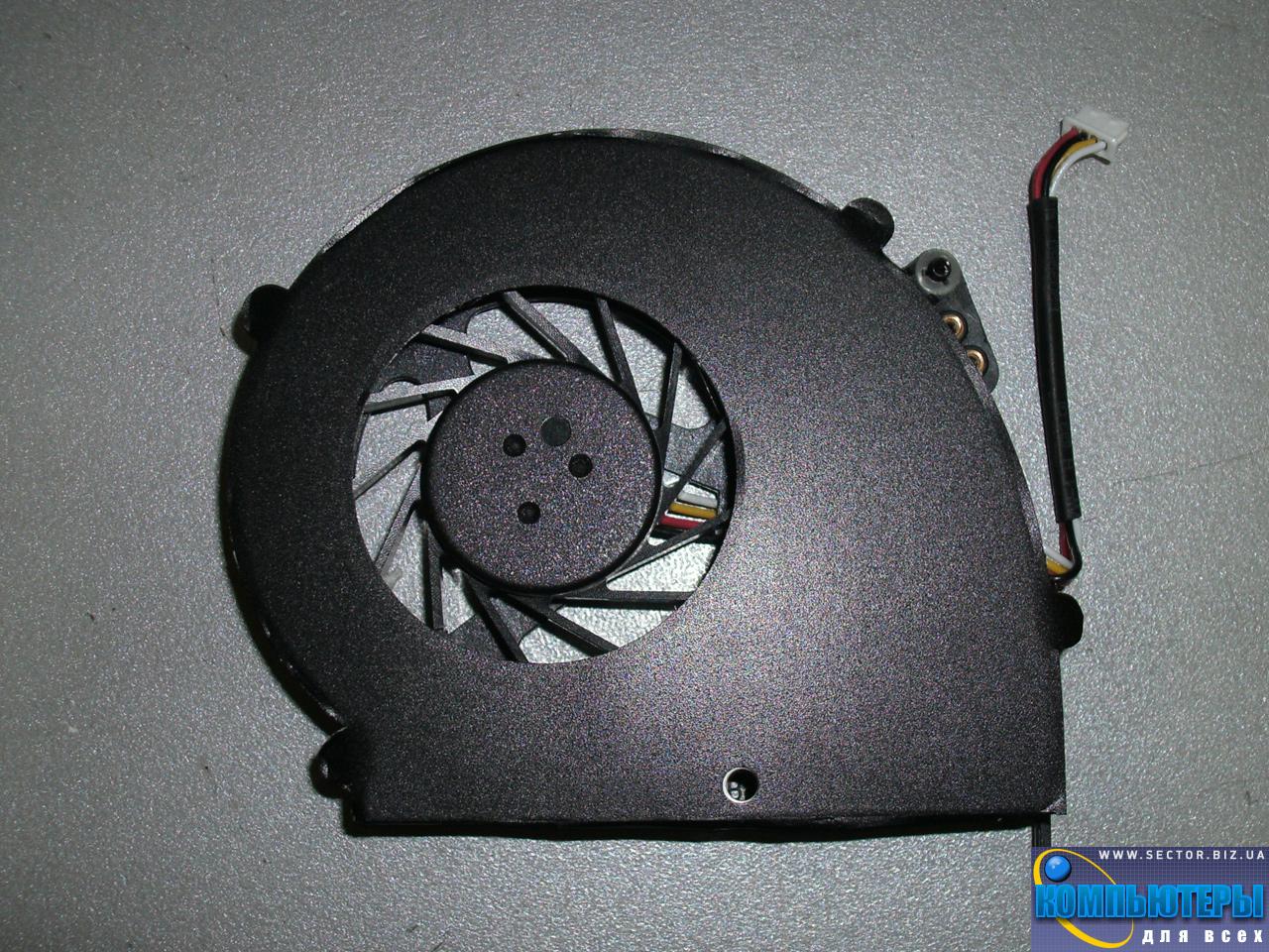 Кулер к ноутбуку Emachines E528 E728 p/n: AB0805HX-TBB (CWZR6). Фото № 3.