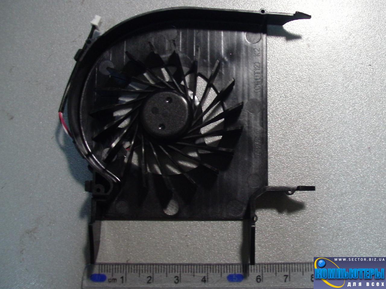 Кулер к ноутбуку HP Pavilion DV6-1000 DV6-1100 DV6-1200 DV6-2000 DV6-2100 DV6-2200 DV6 DV6T DV6Z p/n: AB7805HX-L03. Фото № 2.
