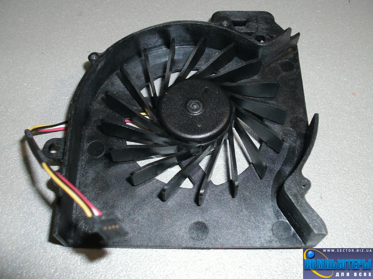 Кулер к ноутбуку HP Pavilion DV6-6200 DV6-6b00 DV6-6c00 DV7-6000 ProBook 4530S p/n: AD6505HX-EEB (CASA). Фото № 1.
