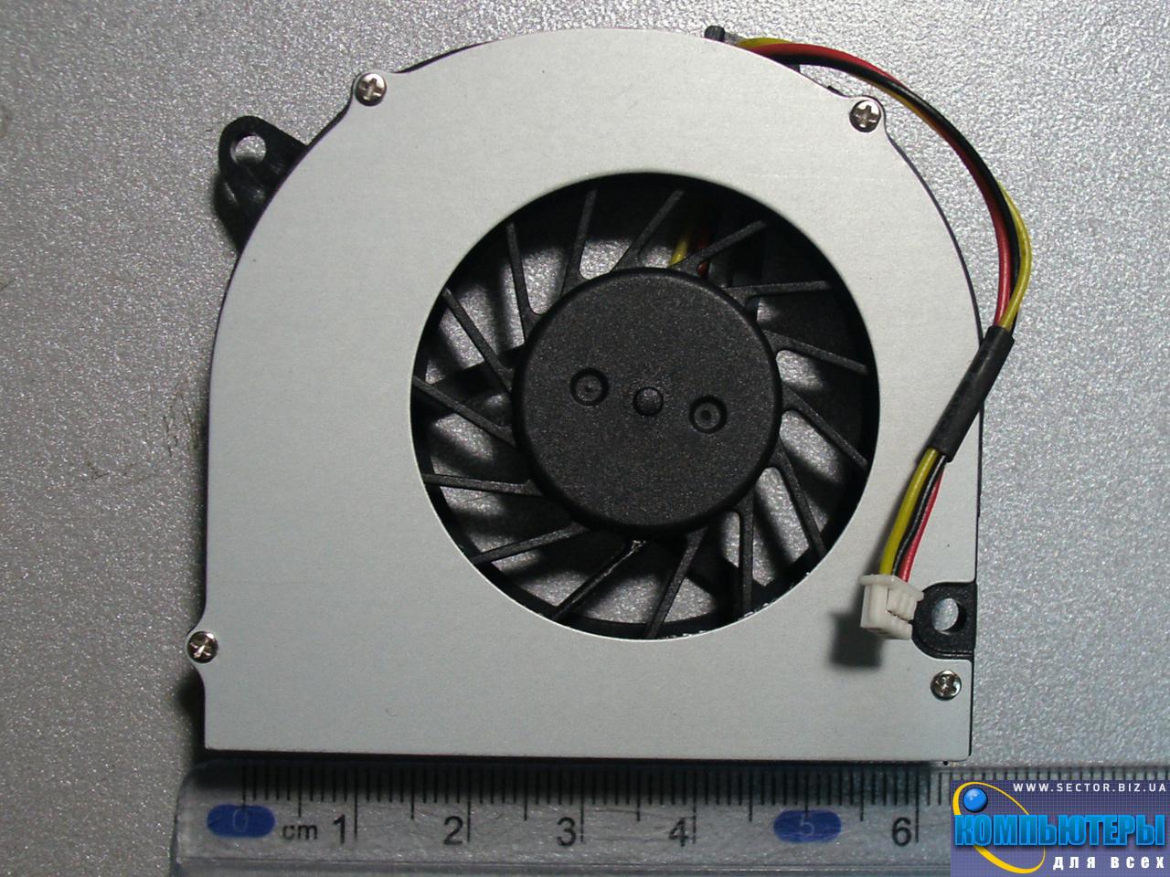 Кулер к ноутбуку HP Compaq 540 541 6510b 6515b 6520s 6530b 6710b 6710s 6715s 6715b p/n: DFB451005M20T. Фото № 2.