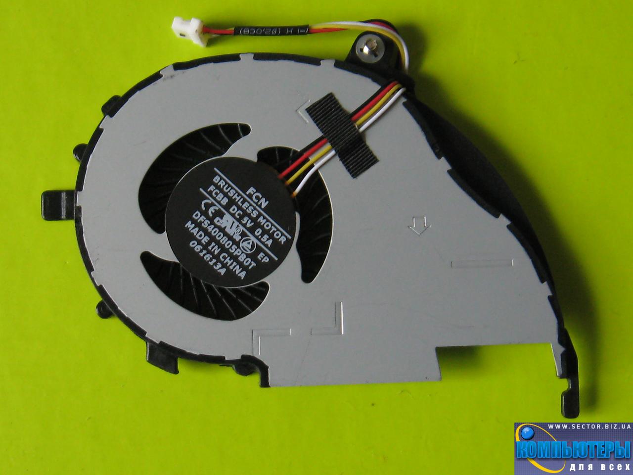 Кулер к ноутбуку Acer Aspire V5-472 V5-472P V5-572 V5-572G V5-572P V7-582PG p/n: DFS400805PB0T FCBB. Фото № 1.