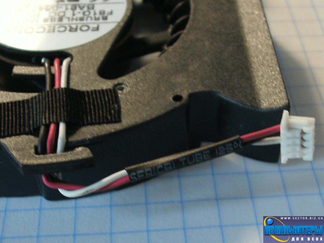 Кулер к ноутбуку Samsung P530 R523 R525 R528 R530 R538 R540 p/n: DFS531005MC0T F81G-1. Фото № 4.