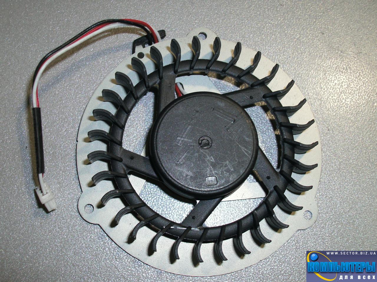 Кулер к ноутбуку Samsung R425 R463 R467 R468 R470 R517 R518 p/n: DFS531005MC0T F81G. Фото № 2.