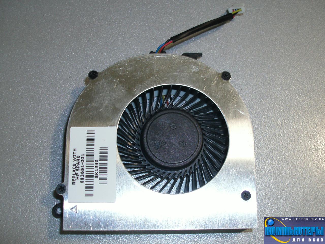 Кулер к ноутбуку HP ProBook 4440S 4441S 4445S 4446S p/n: DFS531005PL0T FB7Q 23.10605.001. Фото № 4.