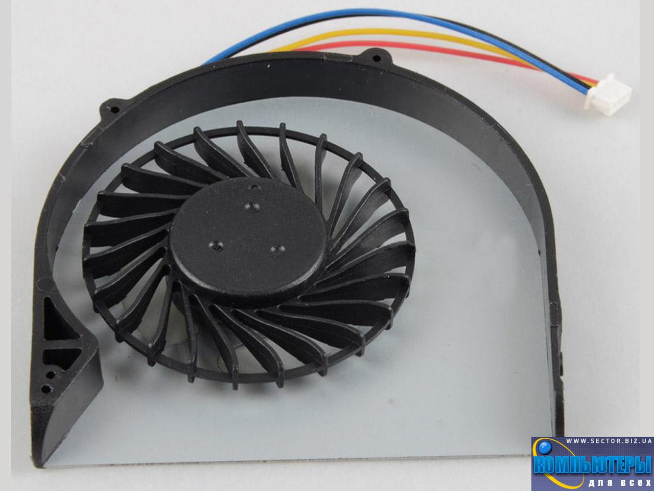 Кулер к ноутбуку Lenovo B480 B480A B485 B490 B590 M490 M495 p/n: DFS531205HC0T. Фото № 4.