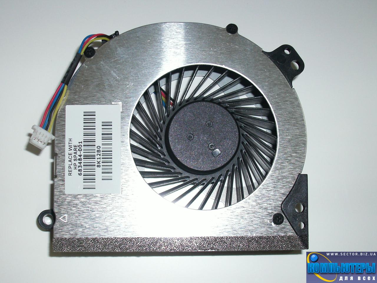 Кулер к ноутбуку HP ProBook 4540S 4740S 4750S p/n: DFS551205ML0T FB7S 23.10720.001. Фото № 3.