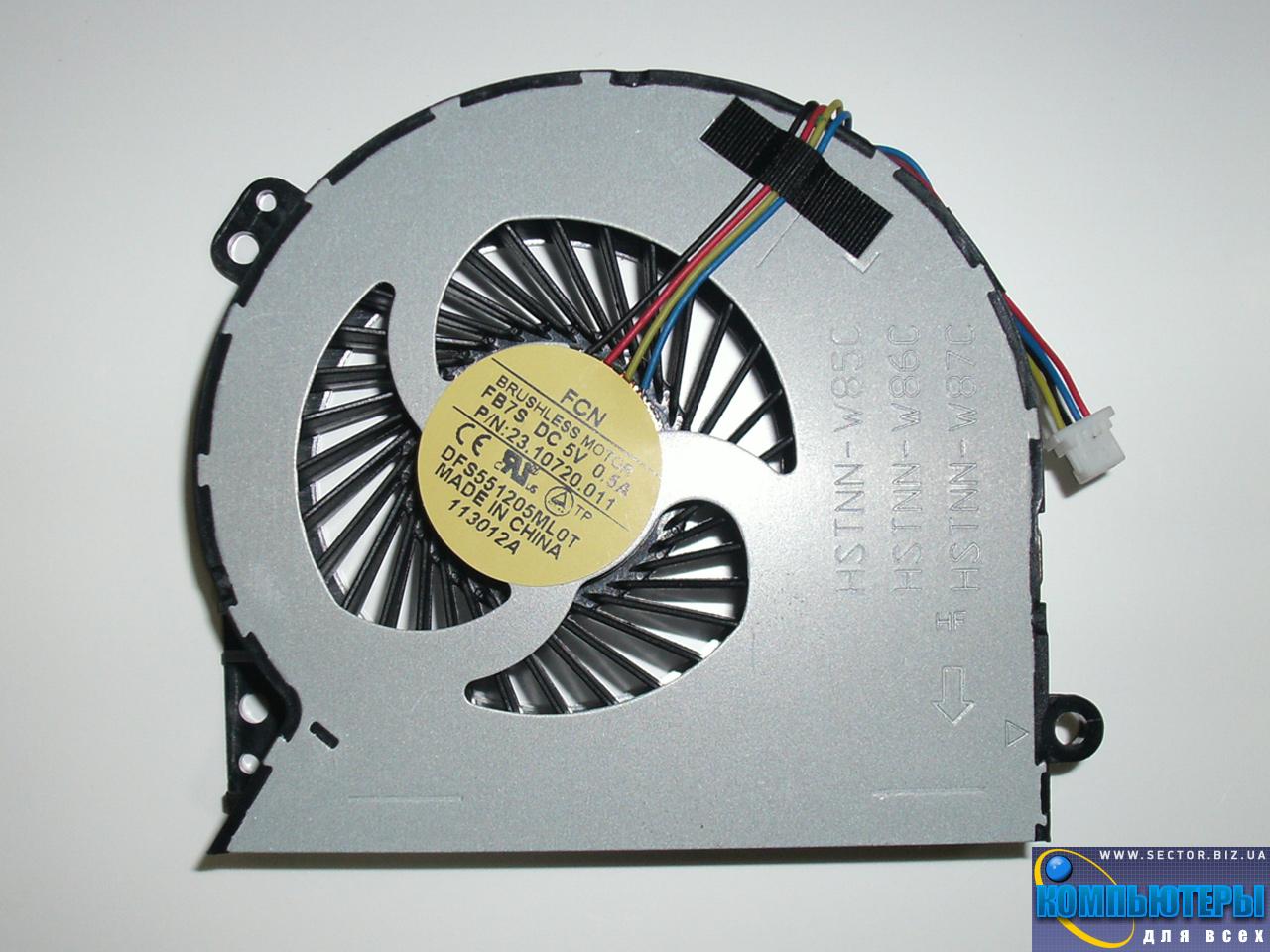 Кулер к ноутбуку HP ProBook 4540S 4740S 4750S p/n: DFS551205ML0T FB7S 23.10720.001. Фото № 4.