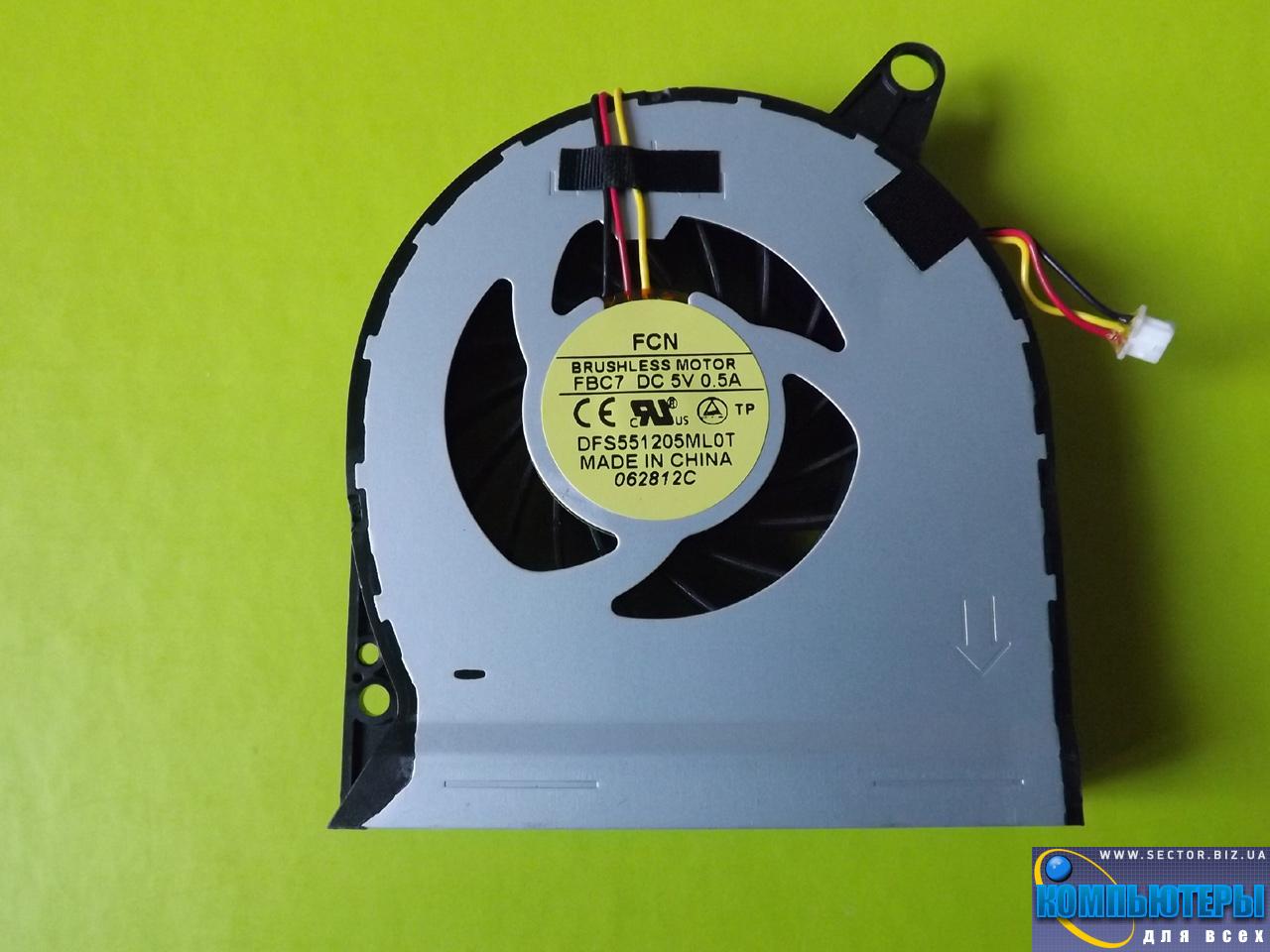 Кулер к ноутбуку Acer Aspire V3-731 V3-731G V3-771 V3-771G p/n: DFS551205ML0T FBC7. Фото № 2.