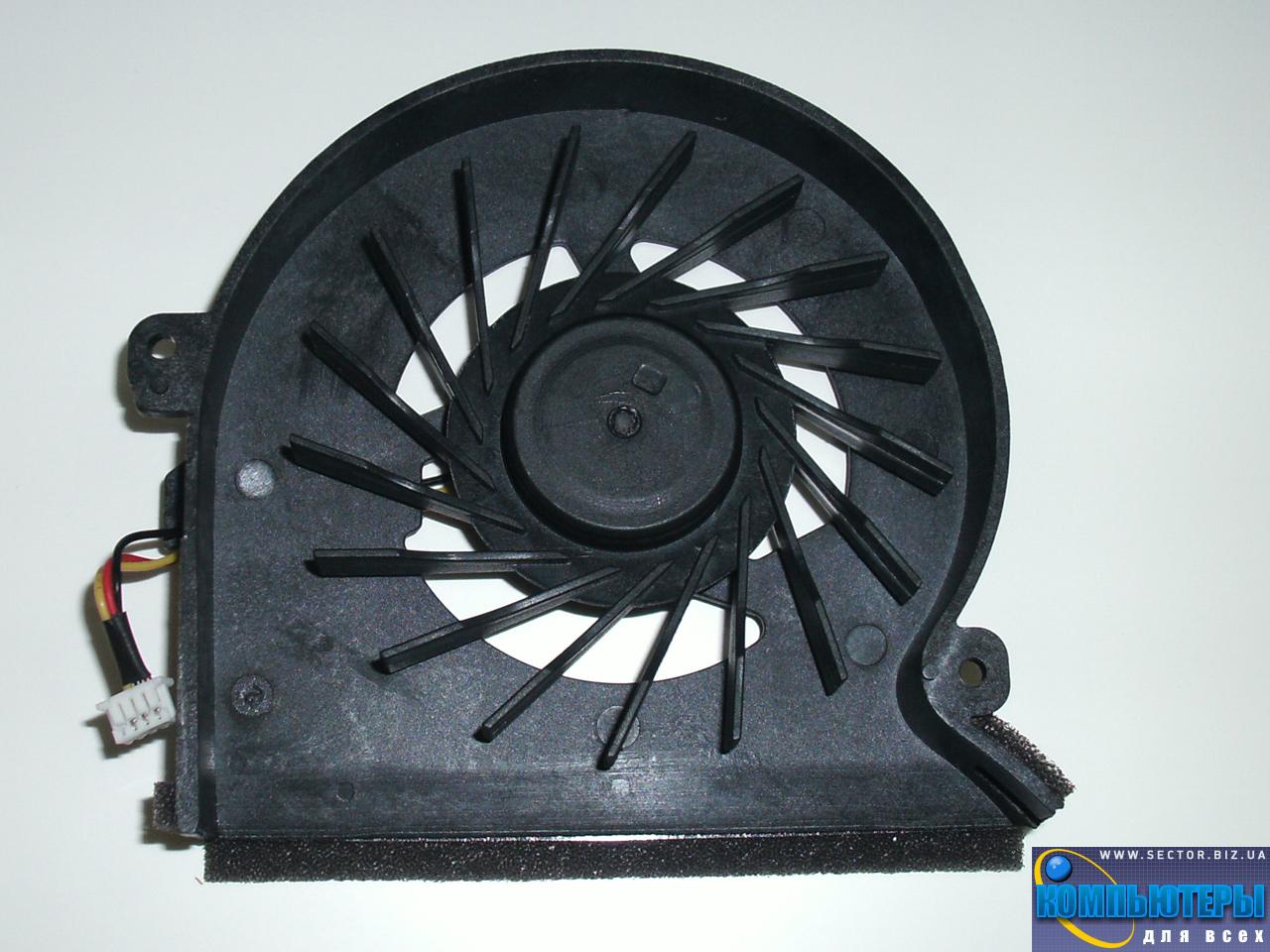 Кулер к ноутбуку Samsung P510 P560 P580 P710 R503 R505 R508 R509 R510 R700 R710 p/n: DFS651605MC0T F8V7. Фото № 1.