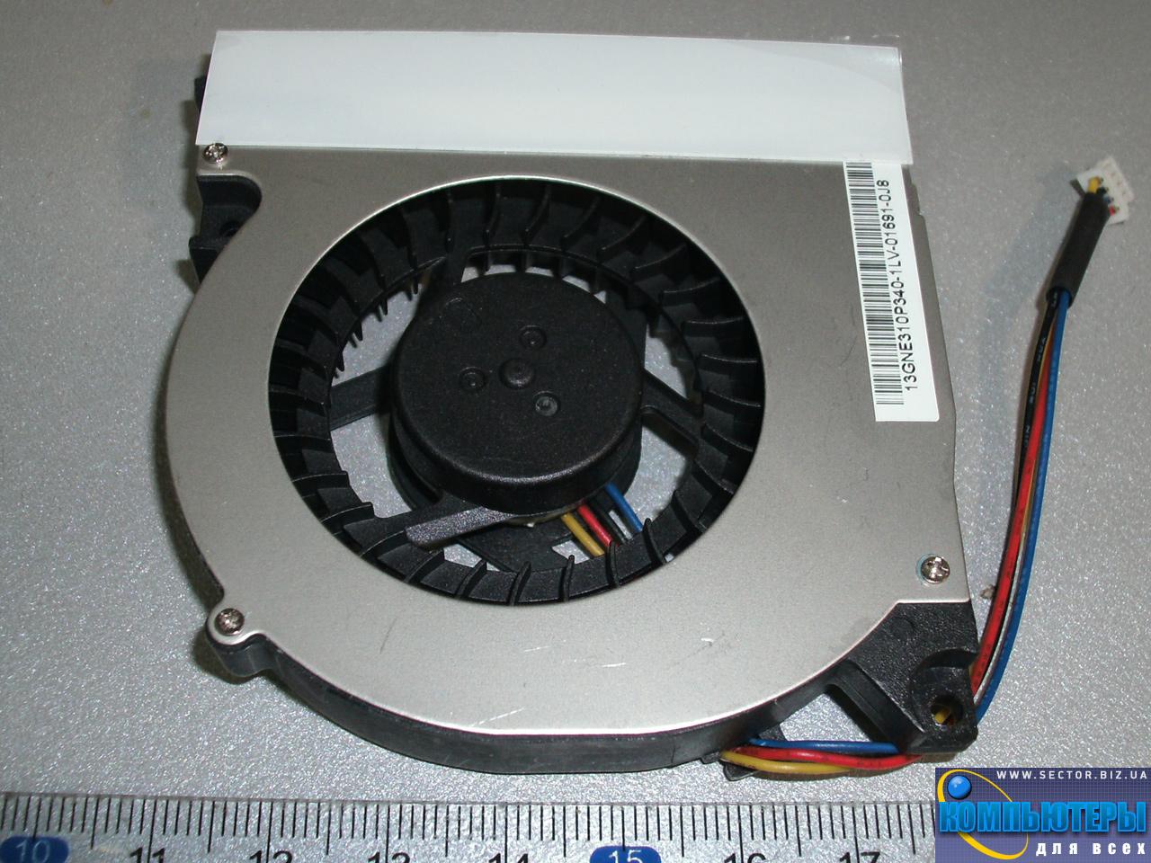 Кулер к ноутбуку Lenovo Y510 Y520 Y530 F51 p/n: KDB0705HB. Фото № 3.