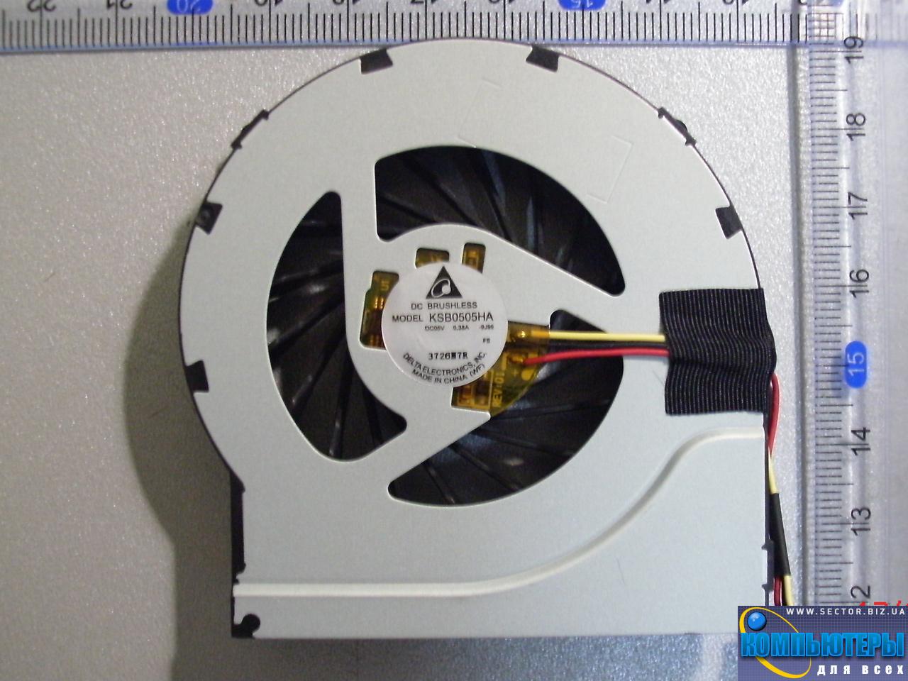 Кулер к ноутбуку HP Pavilion DV6-3000 DV6T-3000 DV7-4000 DV7T-4000 DV7-4100 p/n: KSB0505HA-9J99. Фото № 4.