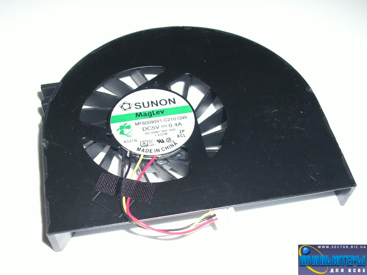 Кулер к ноутбуку Dell Inspiron 15R M5110 N5110 p/n: MF60090V1-C210-G99. Фото № 3.