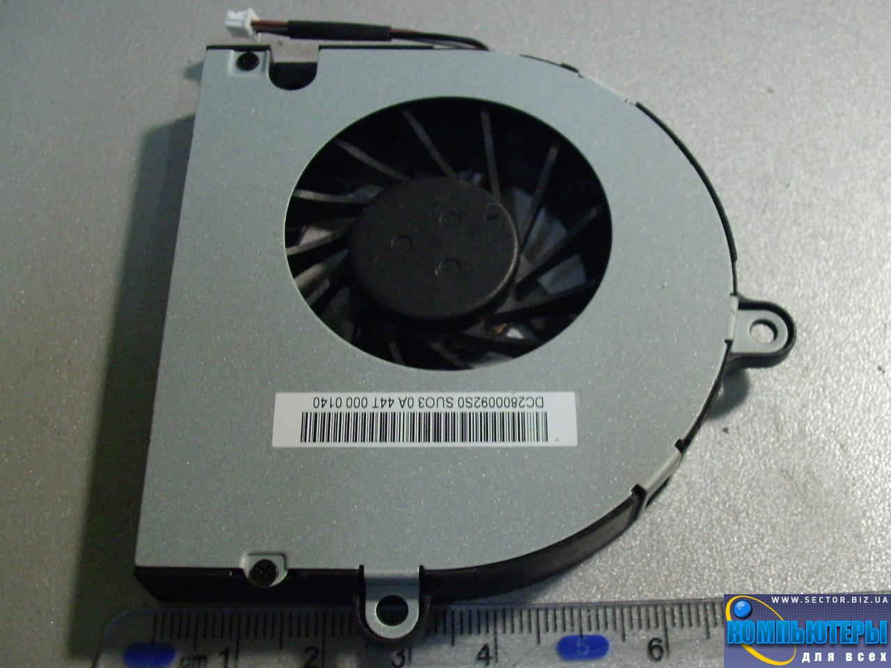 Кулер к ноутбуку Emachines E442 E443 E529 E644 E729 p/n: MF60120V1-C040-G99. Фото № 5.
