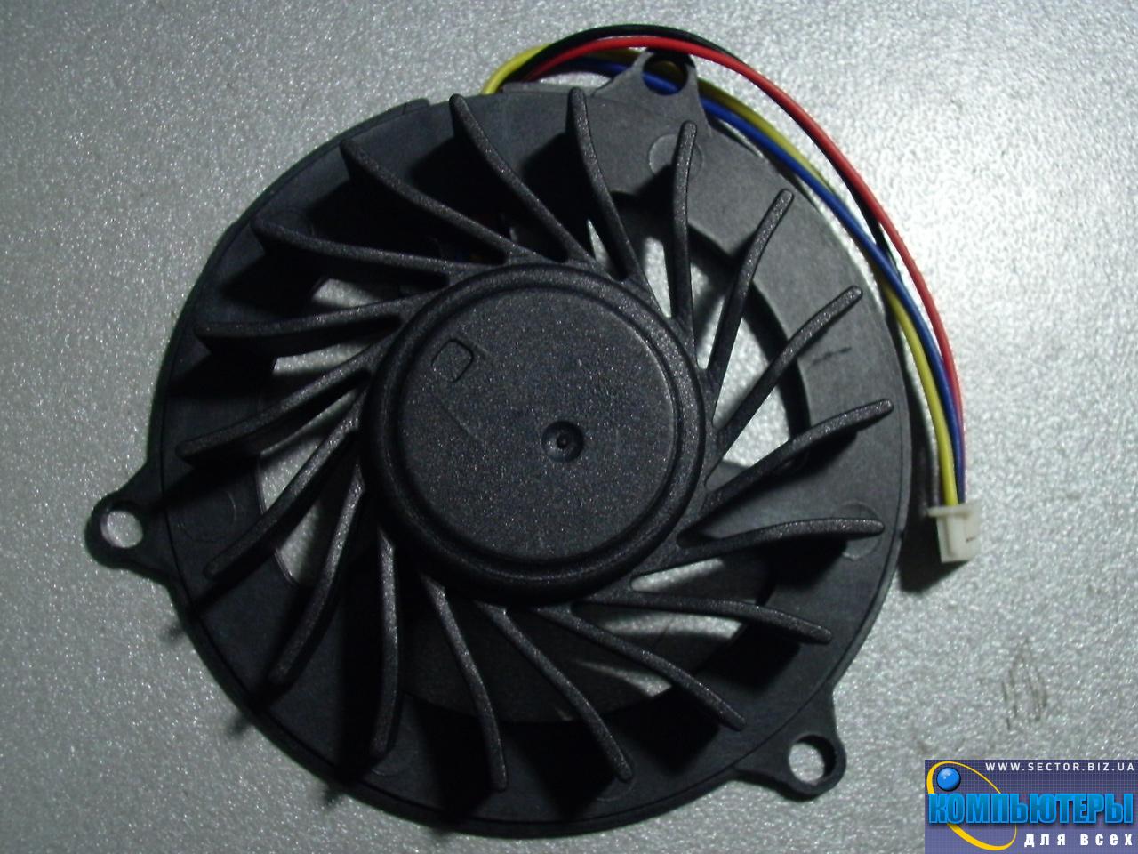 Кулер к ноутбуку Dell Studio 1535 1536 1537 1555 1556 1557 1558 PP33L p/n: XS10N05YF05VBJ. Фото № 3.