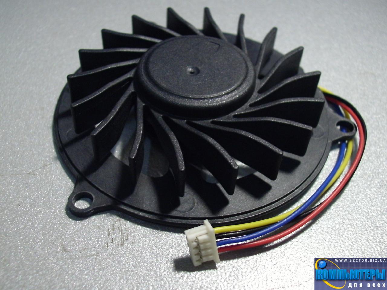 Кулер к ноутбуку Dell Studio 1535 1536 1537 1555 1556 1557 1558 PP33L p/n: XS10N05YF05VBJ. Фото № 4.