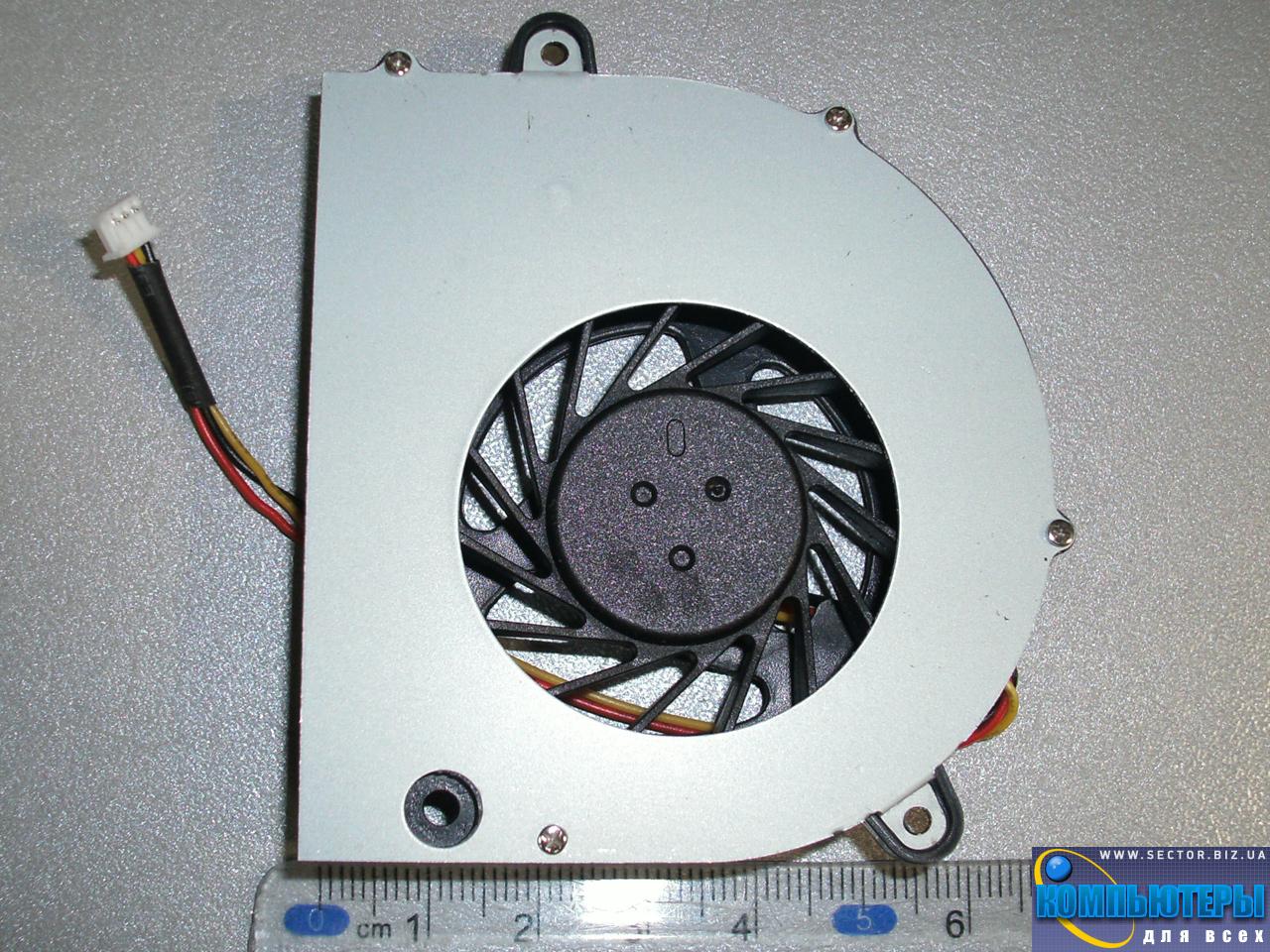 Кулер к ноутбуку Lenovo G450 G455 G550 G550M G555 B550 L3000 G450A G450M p/n: XS10N05YF05VBJ. Фото № 1.