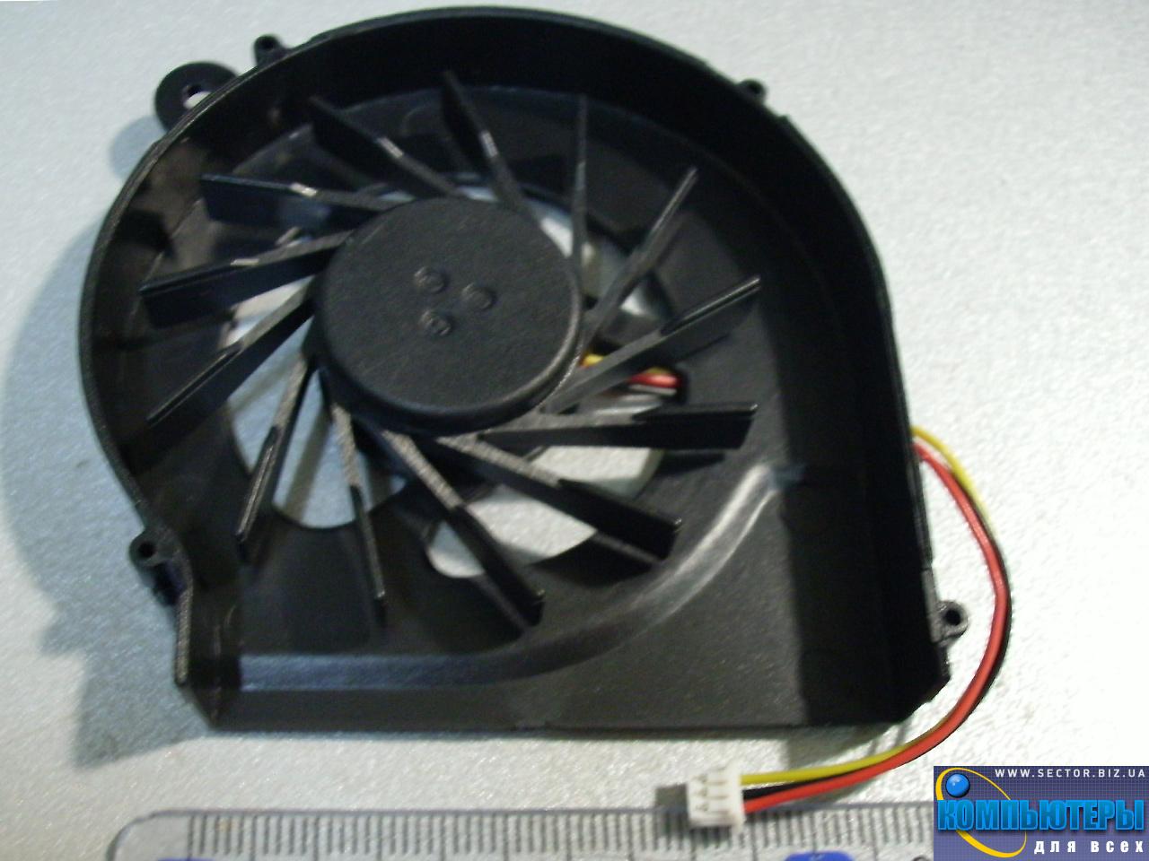 Кулер к ноутбуку HP Compaq CQ42 G42 G4 G6 G7 CQ56 G56 p/n: XS10N05YF05VBJ. Фото № 2.